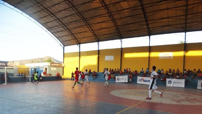 Ginásio municipal de Panelas (Foto: GloboEsporte.com)