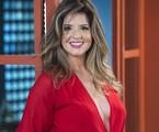 Mariana Santos com novo visual de Maria Pia em 'Pega pega' | Estevam Avellar/TV Globo