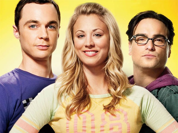 Jim Parsons, Kaley Cuoco e Johnny Galecki, de 'The Big Bang theory' (Foto: Divulgação)
