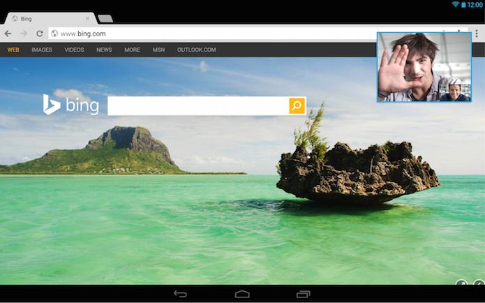 Agora é possível usar programas e receber chamadas do Skype no Android (Foto: Divulgação/Google Play)