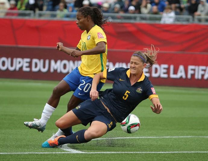 Formiga  Brasil x Austrália mundial feminino (Foto: Reuters)