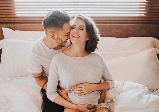 Junior Lima e Monica Benini anunciam nascimento do primeiro filho (Foto: Instagram/Reprodução)