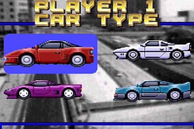 Menu de seleção dos carros (Foto: Reprodução)