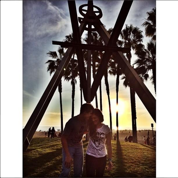 Lívian Aragão e o namorado (Foto: Reprodução Instagram)