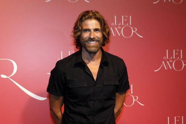 Reynaldo Gianecchini na festa da novela A Lei do amor  (Foto: Celso Tavares / Ego)