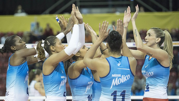 Osasco Top Volley (Foto: EFE)