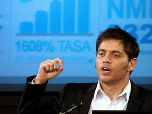 Ministro da economia argentino diz que país tentará negociar pagamento de dívida determinado pela Justiça. (Foto: ALEJANDRO BELVEDERE / TELAM / AFP)