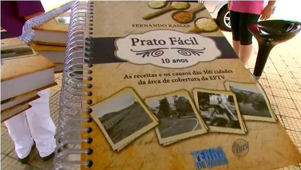 Quadro completa 10 anos e receitas são reunidas em livro de Fernando Kassab (Foto: Reprodução EPTV)
