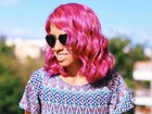 Rosa, azul, roxo e mais! Carla Lemos dá dicas para arrasar com cabelos coloridos