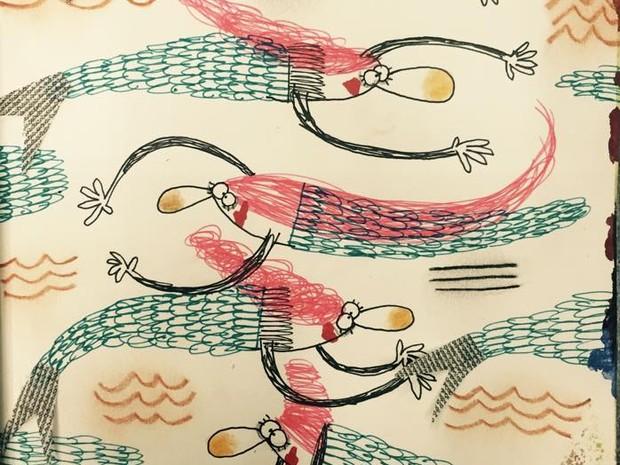 Ilustração de Ana Laura Cantone (Foto: Divulgação/ Ana Laura Cantone)