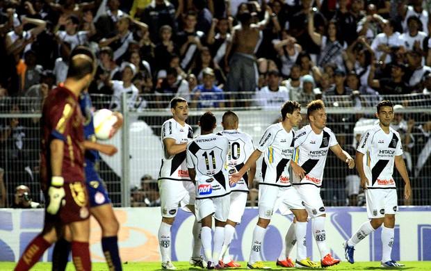 Jogadores ponte preta gol penapolense troféu do interior (Foto: Denny Cesare / Agência Estado)