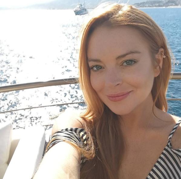 Lindsay Lohan no Festival de Cannes 2017 (Foto: Reprodução)