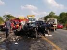 Seis pessoas morrem após dois acidentes na BR-354 em MG