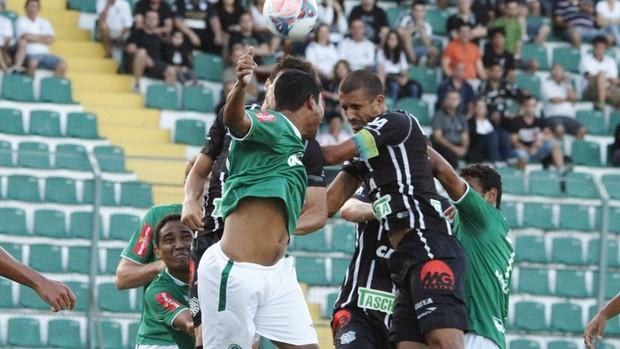 Figueirense vence a Chapecoense em cada (Foto: Luiz Henrique / Figueirense)