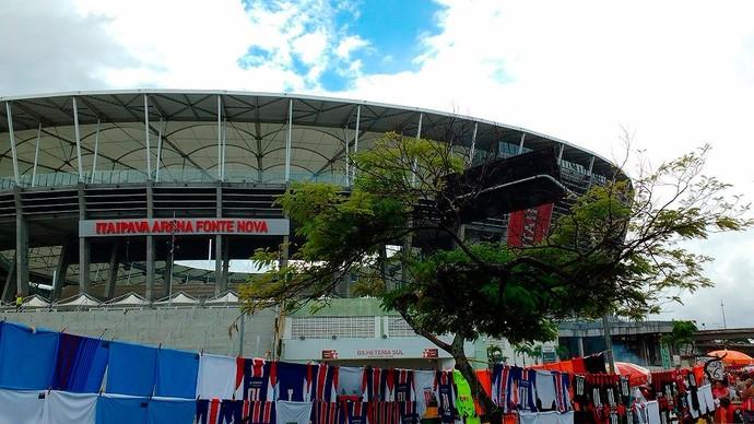 arena fonte nova; ba-vi; bahia; Vitória (Foto: Rafael Santana)