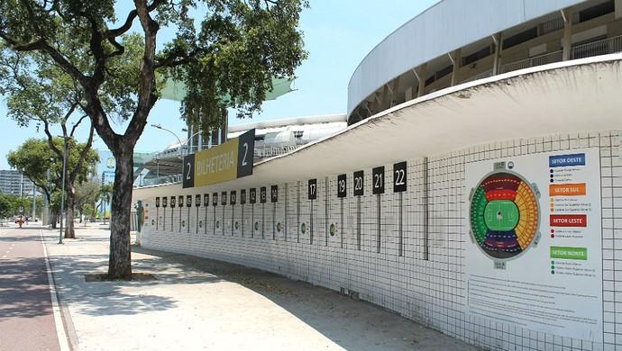 Bilheteria Maracanã (Foto: Bernardo Eyng)