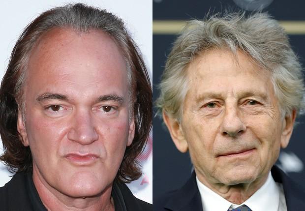 Quentin Tarantino e Roman Polanski (Foto: Getty Images)