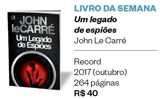 Um legado de espiões, John Le Carré (Foto: Época)