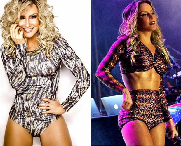 Claudia mostra a boa forma nas fotos postadas em suas redes sociais (Foto: Arquivo Pessoal)