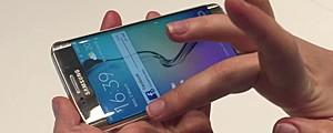 'Tela infinita' do novo Galaxy S6 Edge poupa energia; veja outras funções