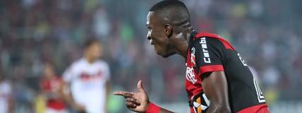 Vinicius Junior faz dois, e Flamengo bate o Atlético-GO na Ilha do Urubu (Gilvan de Souza/Flamengo)