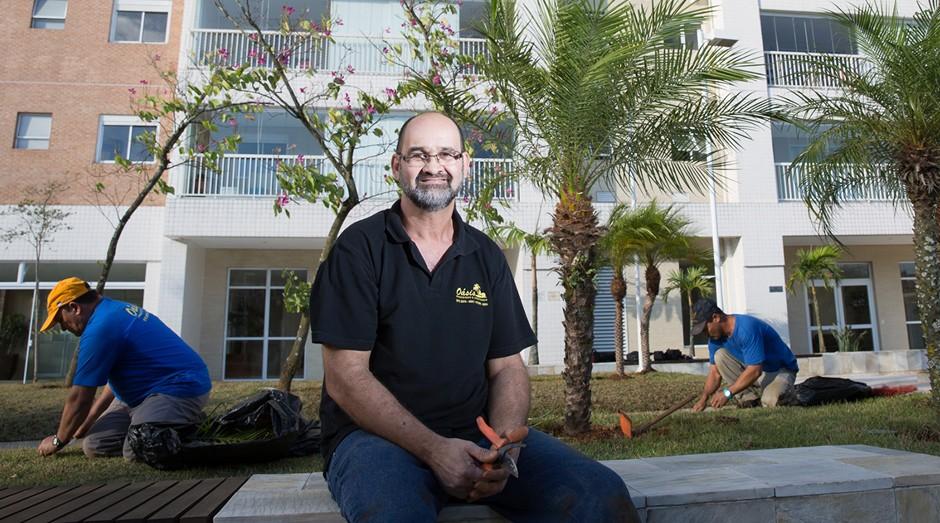Mauri Rodrigues, fundado da Oásis Paisagismo & Jardinagem (Foto: Divulgação)