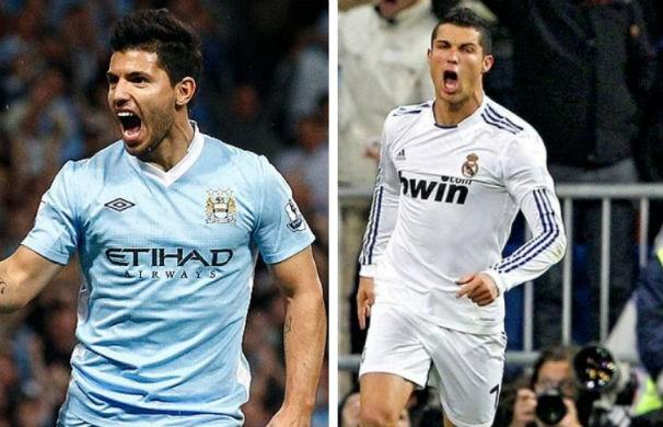 Manchester City e Real Madrid disputam vaga na final da Liga dos Campeões (Foto: montagem/GE)