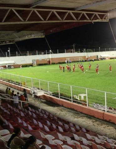 Arena Ytacoatiara (Foto: Emanuele Madeira/GloboEsporte.com)