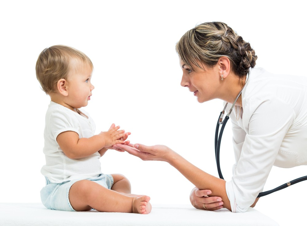 pediatra; consulta; saúde; bebê (Foto: Shutterstock)