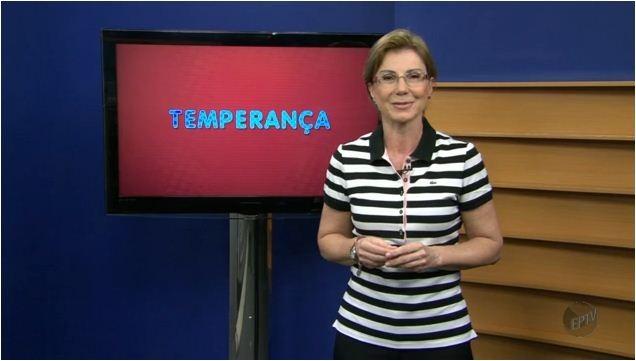 Regina Furtado esclarece dúvidas dos telespectadores (Foto: Reprodução EPTV)