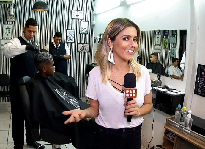 Plugue invadiu uma barbearia cheia de estilo em Volta Redonda (Foto: Reprodução/ Plugue)
