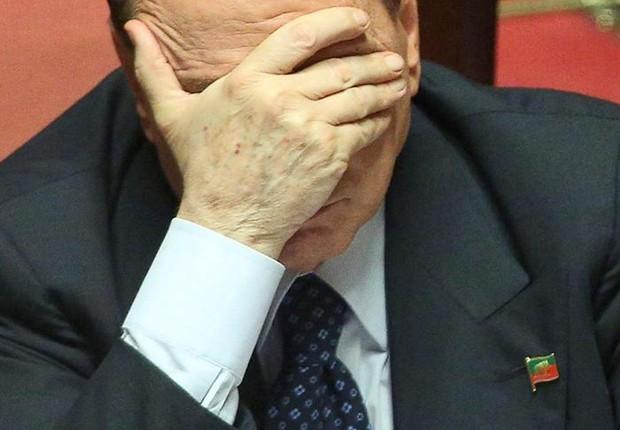 Mais um decisão desfavorável ao ex-premiê Silvio Berlusconi (Foto: Agência EFE)