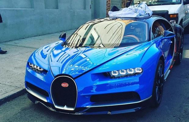 Novo Bugatti Chiron é fotografado em rua de Nova York