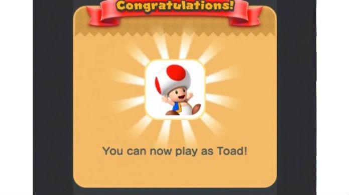 Super Mario Run: Toad é uma recompensa gratuita do programa de fidelidade (Foto: Reprodução / Thomas Schulze)