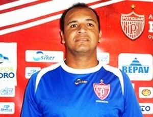 Delmir, goleiro do Potiguar de Mossoró (Foto: Marcelo Diaz/Potiguar de Mossoró)