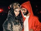 Thaila Ayala vira 'Lobo Mau' em festa de Halloween nos EUA