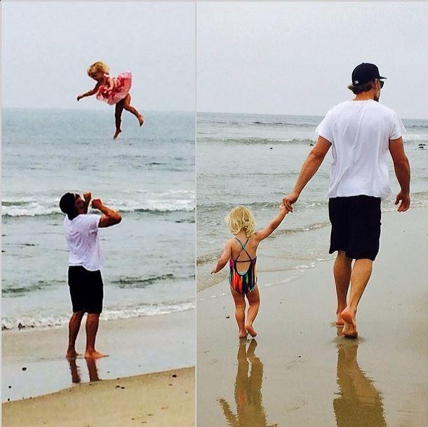 Jessica Simpson posta foto do marido e da filha (Foto: Instagram/Reprodução)