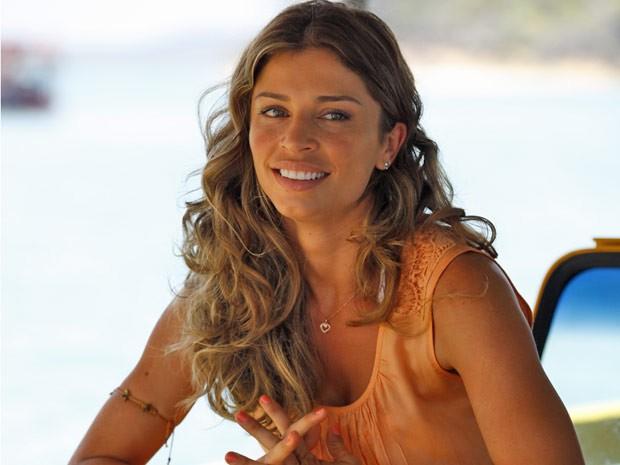 Aprenda a fazer a maquiagem suave e cachos de Ester  (Foto: Flor do Caribe/ TV Globo)
