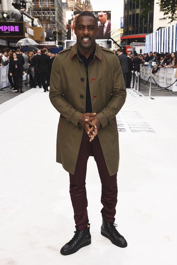 Idris Elba na première de 'Star Trek: Sem Fronteiras' (Foto: Divulgação)