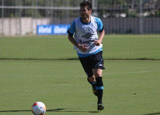 Marcelo Oliveira no treino do Grêmio (Foto: Eduardo Deconto/GloboEsporte.com)