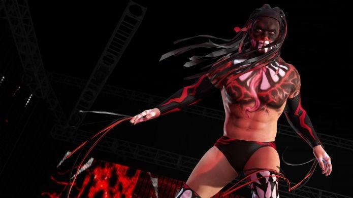 Quer deixar seu lutador tão estiloso quando Finn Bálor em WWE 2K16? Saiba como (Foto: Divulgação/2K Games)