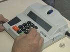 Biometria garante segurança em votação em duas cidades da região
