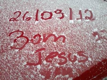 Registro em Bom Jesus (Foto: Raquel Jacoby Silveira/Prefeitura de Bom Jesus)