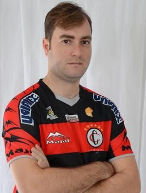 Gustavo Guimarães, blogueiro, Campinense (Foto: GloboEsporte.com)