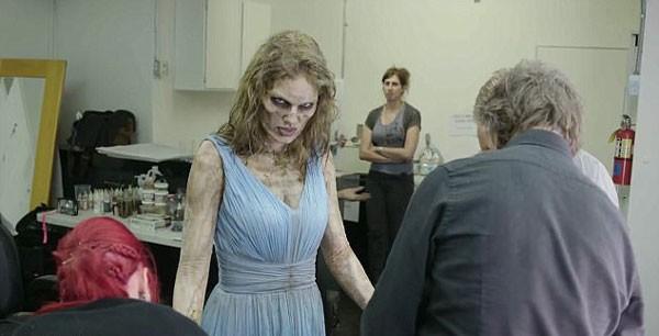 Taylor Swift se transforma em zumbi para cena de novo clipe (Foto: Rogério Albuquerque)