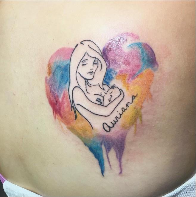 Tatuagem de 'jadessatattoos' (Foto: Instagram)