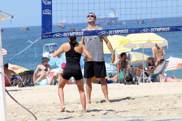 Fernanda Lima e Rodrigo Hilbert (Foto: JC pereira/Agnews)