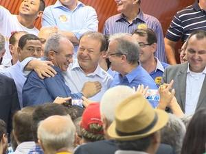 PMDB conta com apoio do PSDB, no Espírito Santo, que deve ser oficializado nesta segunda-feira (Foto: Reprodução/TV Gazeta)