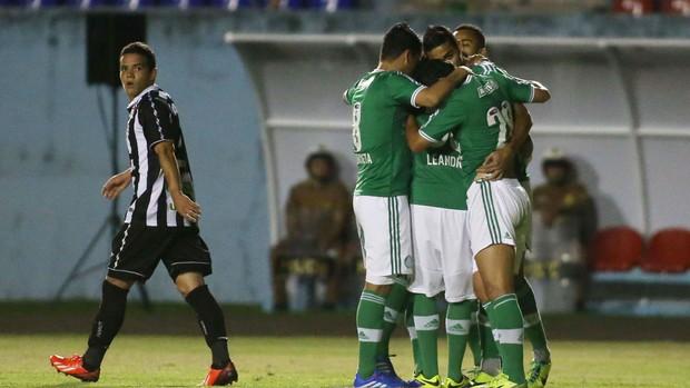 Palmeiras x Figueirense (Foto: Marcos Bezerra / Ag. Estado)