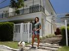 Aline Riscado mostra decoração de casa tríplex de 215 m² na Barra, no Rio